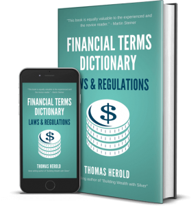 Financial Dictionary ebook for Laws & Regulation terms