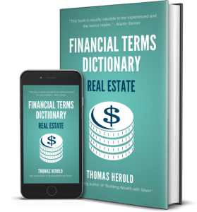 Financial Dictionary ebook for Real Estate terms